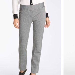 Vince Camuto Houndstooth Cropped Ankle Pants
